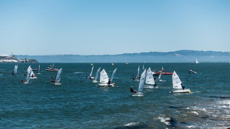 Grinding upwind as close to shore to beat the current