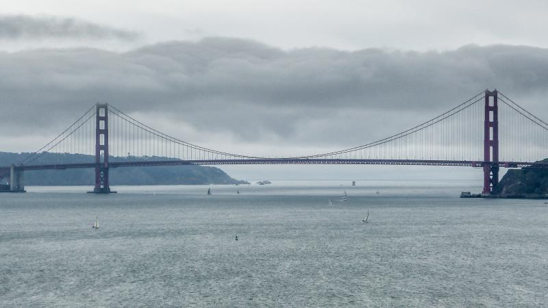 GG Bridge from Angel Island