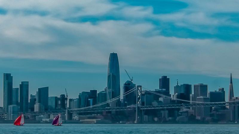 29'ers with San Francisco skyline backdrop