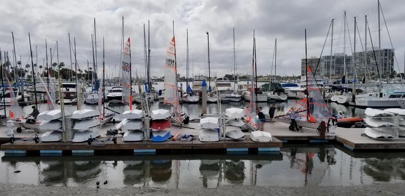 29'ers at Coronado Yacht Club