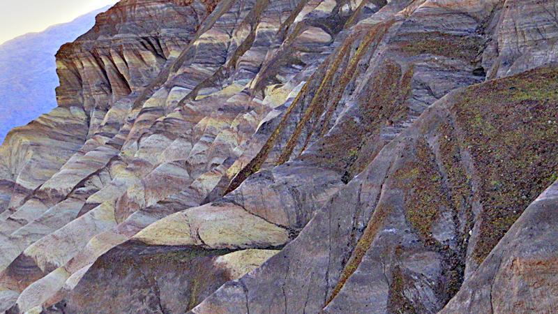 Zabriskie Point - Death Valley National Park.