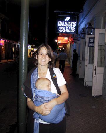 Kari and Simon on Bourbon Street.