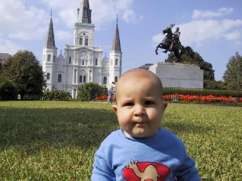 Simon Boeger in New Orleans