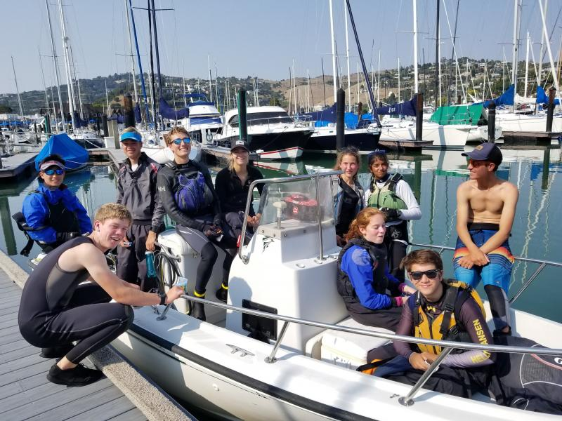 EYC c420 team makes it out to SFYC