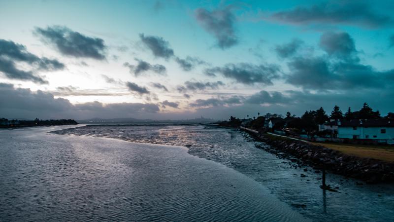 San Leandro Channel