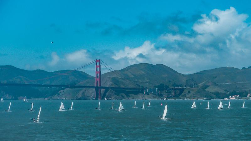 Spring Dinghy on SF Bay (out of the St. Francis)