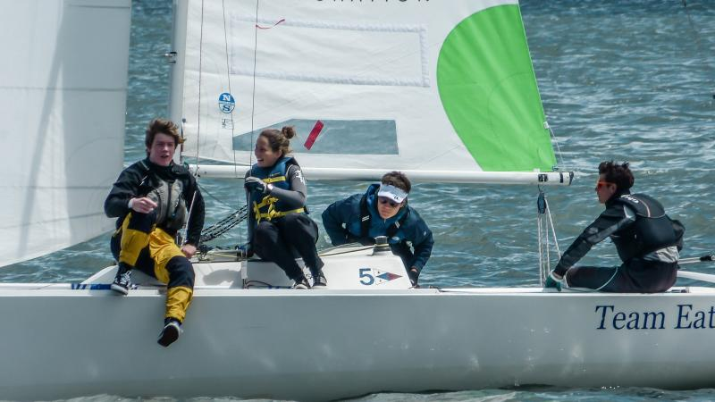 Match Racing against adults and pro's, Team Encinal was invited 2nd year in row.