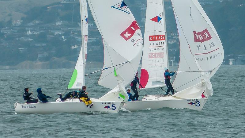 Match racing on SF Bay.