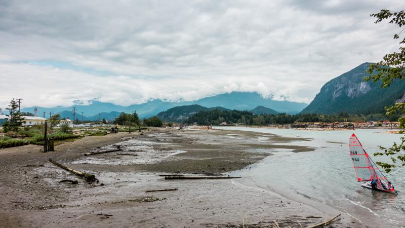 Crazy ass squamish channel