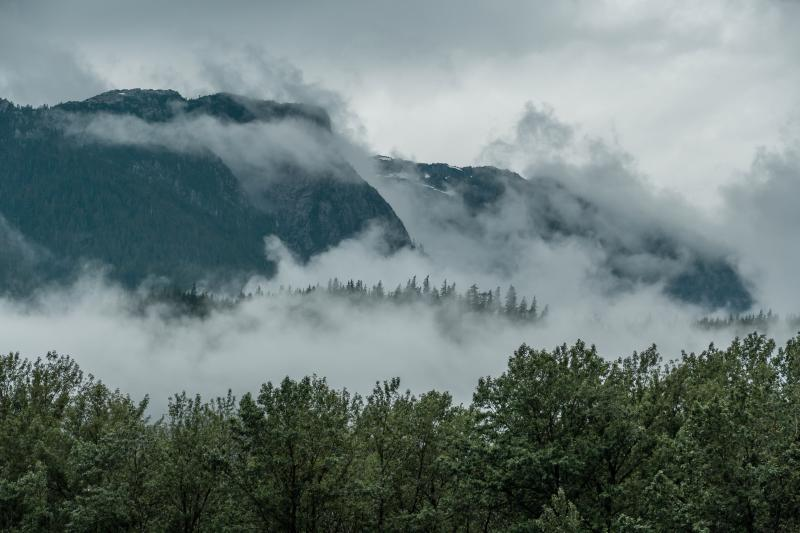 Squamish was gorgeous but a little wet for July.