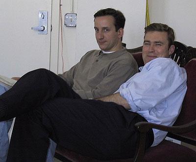 Mark Kress and Kyle