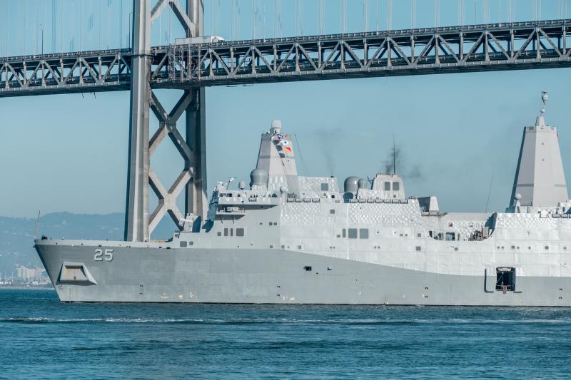 Navy ship.