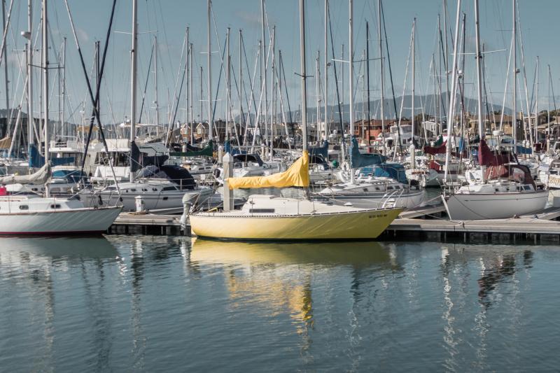 My favorite yellow boat.
