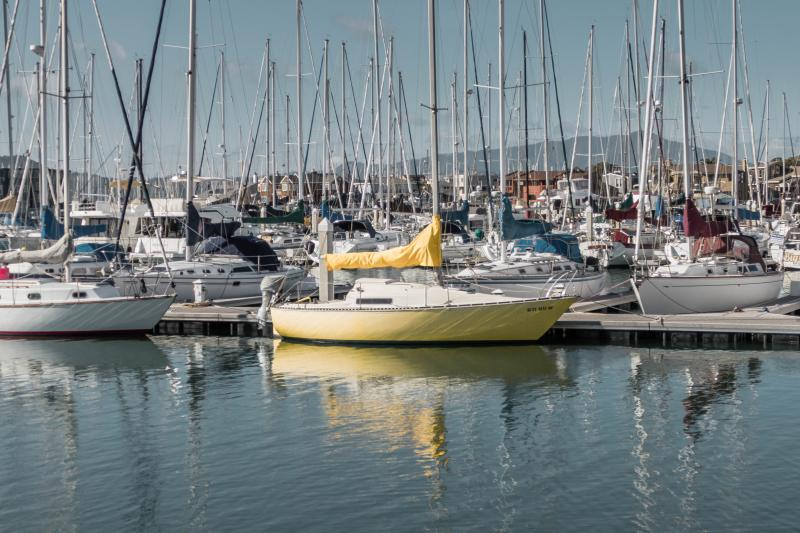 My favorite yellow boat.