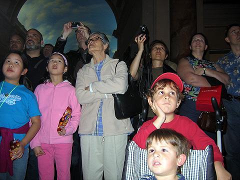 amongst the tourists