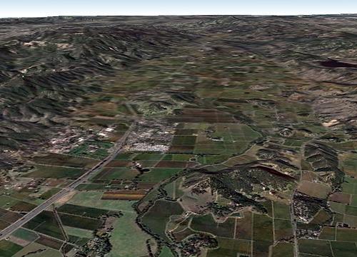 Napa Valley Aerial Shot