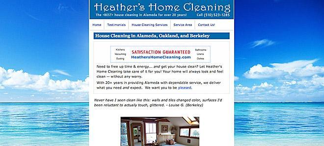 Heather's Home Cleaning - Alameda, California