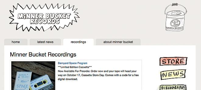 Minner Bucket Records - Fishing for hits