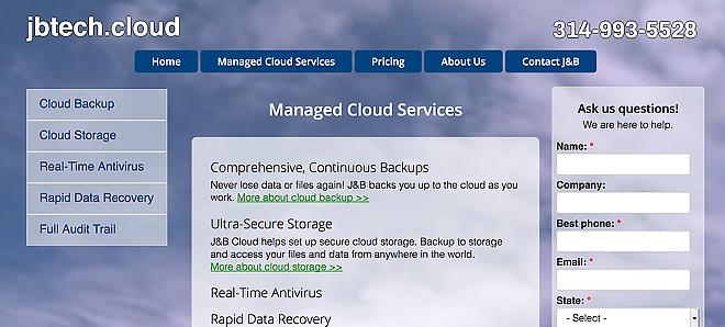 J&B Technologies Cloud Services