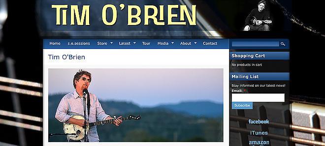 Tim O'Brien - Grammy winning songwriter, plays in Hot Rize