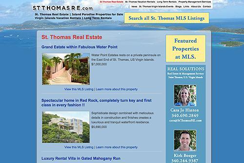 St. Thomas Virgin Islands Real Estate