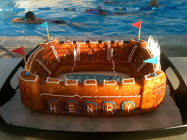 water polo cake