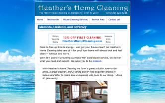 Alameda - Heather's Home Cleaning