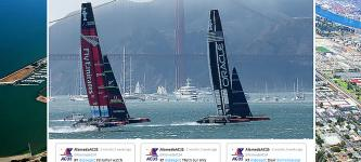 America's Cup website for Alameda