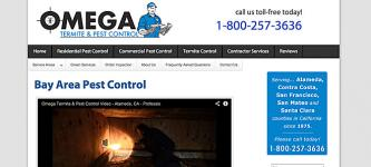 Omega Termite and Pest Control - Oakland, California