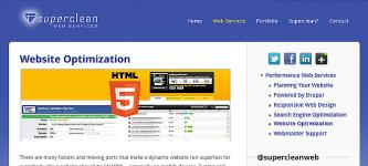 Superclean Web Services - Best Alameda Web Design