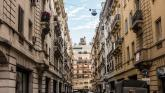 Buenos Aires - Symmetrical Street in Monserrat